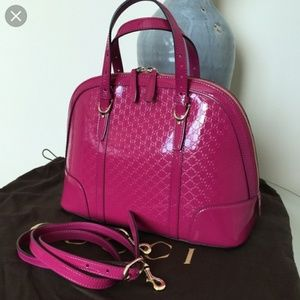 Pink gucci purse